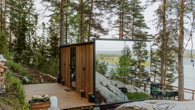 WONDERINN MIRRORED GLASS CABIN: A REFLECTION OF NATURE